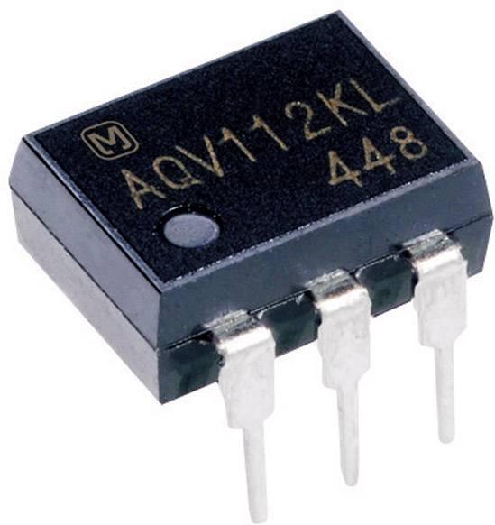 Relé PhotoMOS Panasonic AQV252G, 6 pinů, 1 spínací kontakt, 60 V, 2500 mA