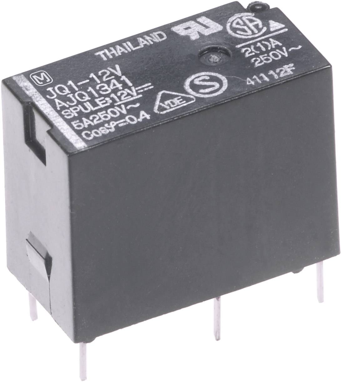 Výkonové relé JQ 5 A, Print Panasonic JQ1AB24F, JQ1AB24F, 200 mW, 5 A, 110 V/DC/250 V/AC 625 VA