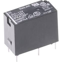 Výkonové relé JQ 5 A, Print Panasonic JQ1B12F, JQ1B12F, 400 mW, 5 A, 110 V/DC/250 V/AC (SchlieĂźer) 625 VA/(Ă–ffner) 250 VA