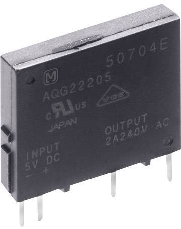 Polovodičové relé Panasonic AQG22124 AQG22124, 2 A, 1 ks
