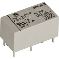 Výkonové relé DSP 5 A/8 A, Print Panasonic DSP2A24, DSP2A24, 300 mW, 5 A, 30 V/DC/250 V/AC , 1250 VA/150 W