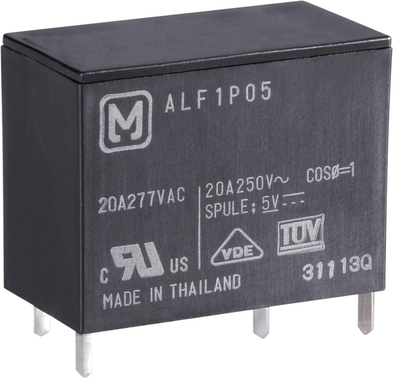 Relé do DPS Panasonic ALF1P05, 5 V/DC, 25 A, 1 spínací, 1 ks