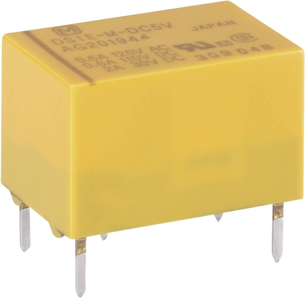 Signálové relé DS 2.0 A, Print Panasonic DS1EM5, 400 mW, 2 A 220 V/DC/250 V/AC 60 W/125 VA