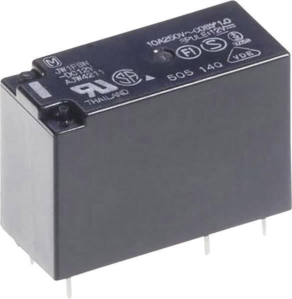 Výkonové relé JW 5 A, Print Panasonic JW2SN12, JW2SN12, 530 mW, 5 A , 30 V/DC/250 V/AC 1250 VA/150 W