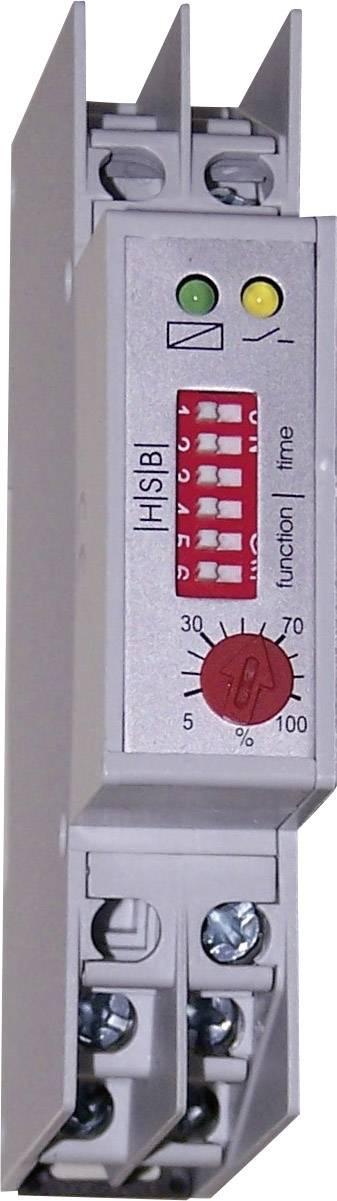 Časové relé multifunkčné HSB Industrieelektronik ZMR 1 011201, čas.rozsah: 0.05 s - 10 h, 1 prepínací, 1 ks