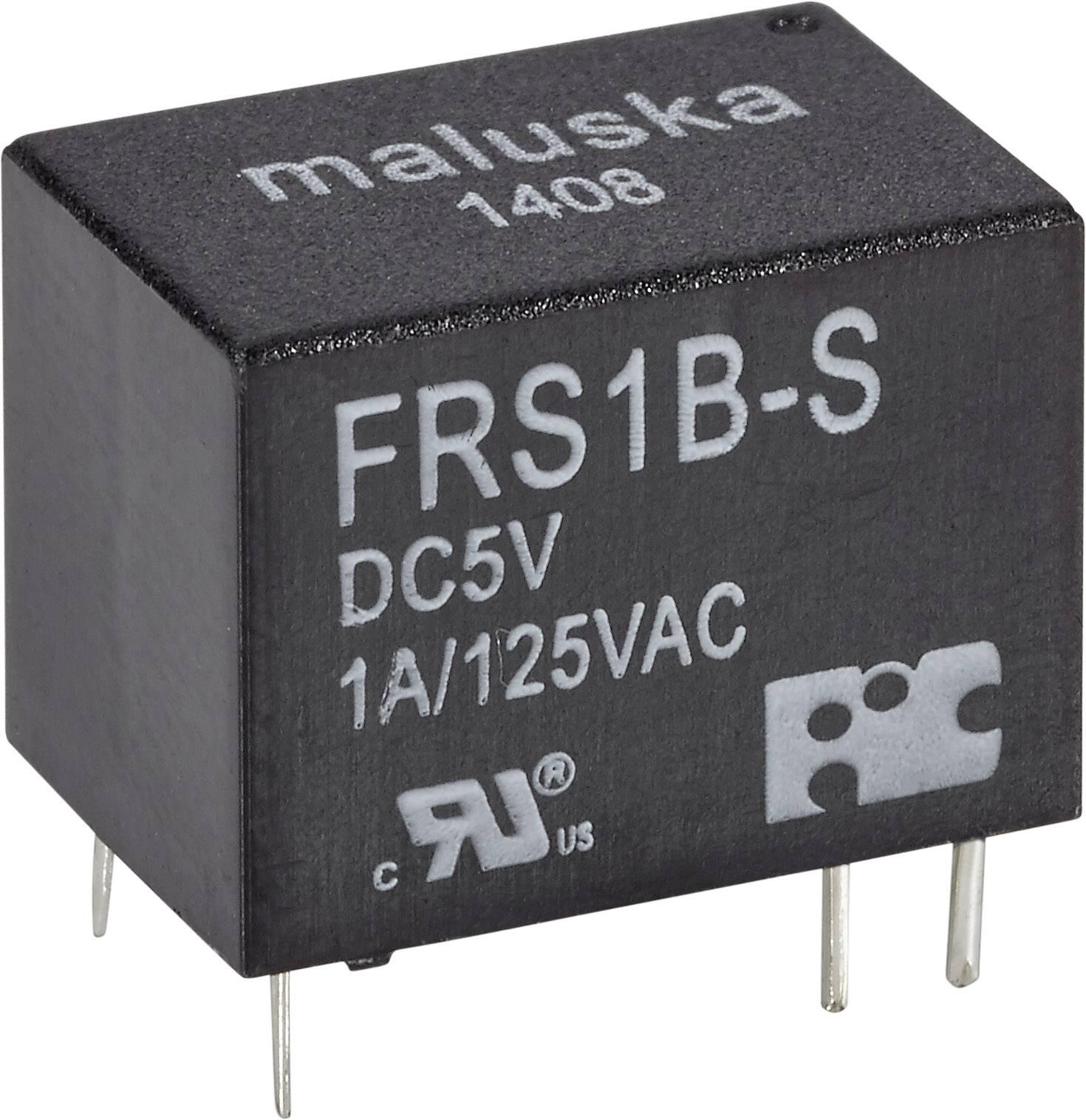 Relé do DPS FiC 12 V/DC, 1 A, 1 prepínací, 1 ks