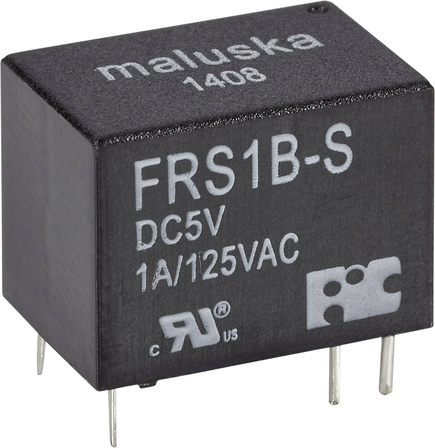 Relé do DPS FiC 5 V/DC, 1 A, 1 prepínací, 1 ks