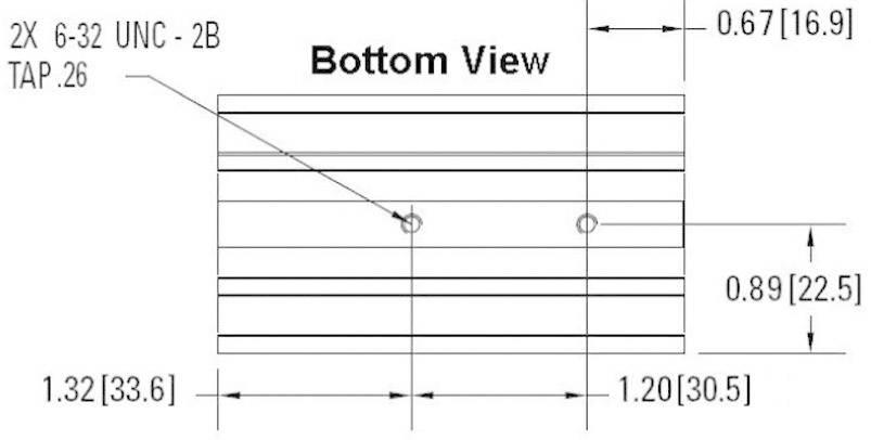 Chladič Crydom HS151DR, 1.5 K/W, (d x š x v) 81 x 45 x 106.5 mm