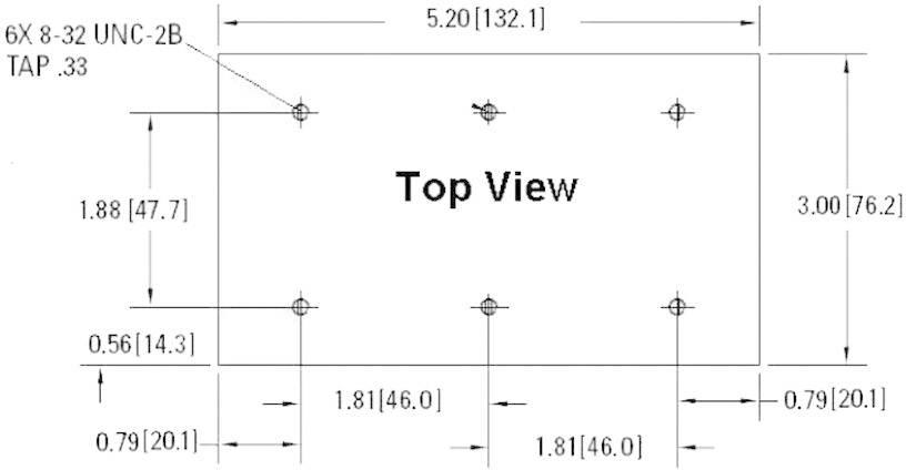 Chladič Crydom HS103DR, 1 K/W, (d x š x v) 76.2 x 132.1 x 60.5 mm