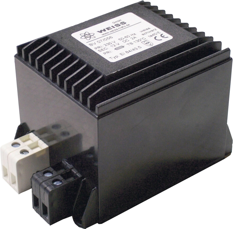 Kompaktný transformátor Weiss Elektrotechnik 07/058, 24 W