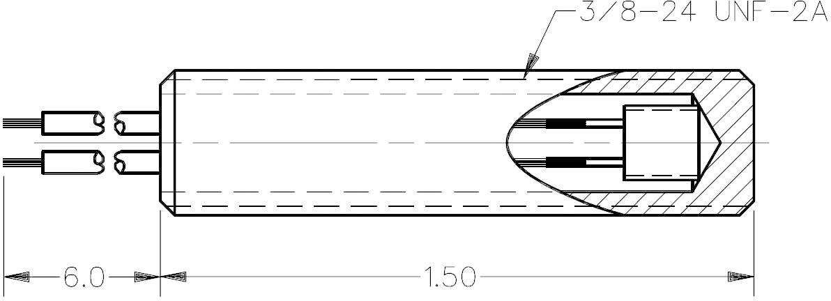 Teplotný senzor série TD4A