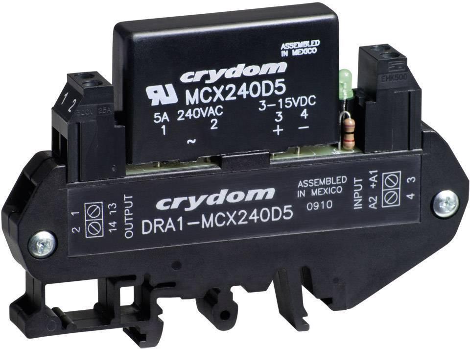 Polovodičové relé Crydom DRA1-MCX240D5 DRA1-MCX240D5, 5 A, 1 ks