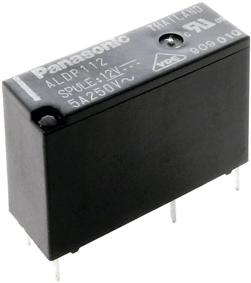 Relé do DPS Panasonic ALDP112, 12 V/DC, 5 A, 1 spínací, 1 ks