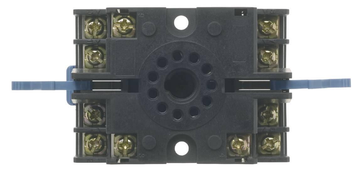 11 pólová šroubová relé-paticePanasonic ATC180041J pro montáž na lištu DIN