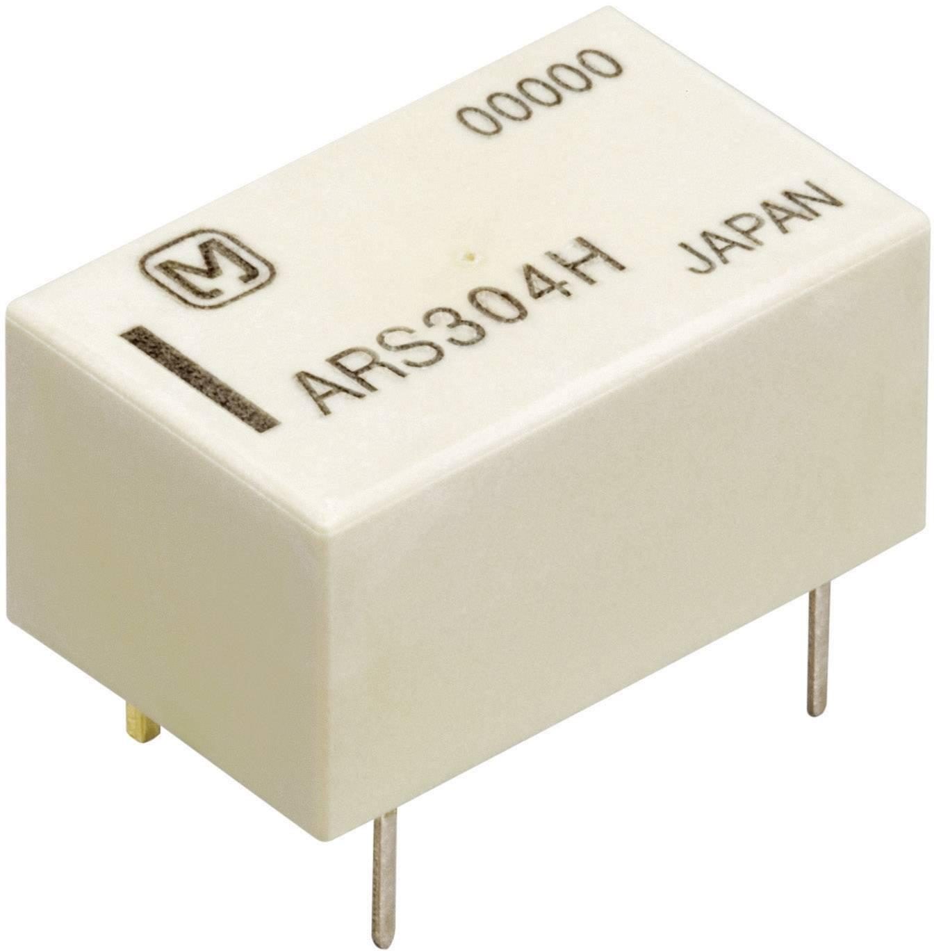 Vysokofrekvenční relé Panasonic ARS1012, 12 V/DC, monostabilní