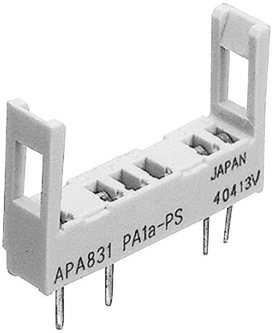 Sokl pro relé Panasonic PA1APS, vhodné pro sérii: Panasonic řada PA (d x š x v) 22.6 x 5 x 14.3 mm 1 ks