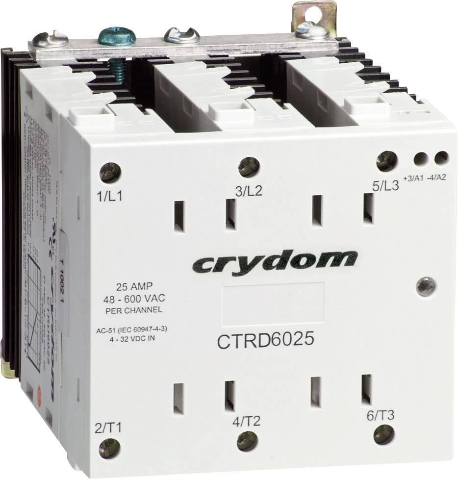 Polovodičové relé Crydom CTRD6025 CTRD6025, 25 A, 1 ks