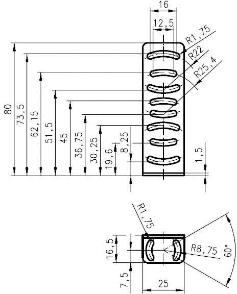 Montážny držiak Leuze Electronic séria BT 25