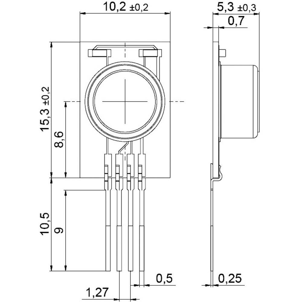 digit lny senzor vlhkosti teploty ist ag hyt 221. Black Bedroom Furniture Sets. Home Design Ideas
