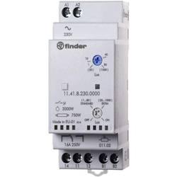 Soumrakový spínač Finder 11.41.8.230.0000, 230 V/AC, 1, 30 - 80, 1000 lx, lx, 1 přepínací kontakt, 1 ks