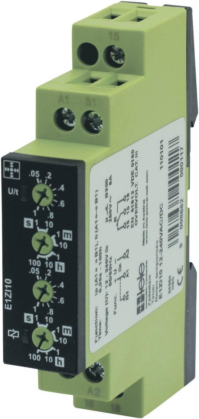 Řada ENYA - časové relé od TELE tele 110101, E1ZI10 12-240VAC/DC, 8 A