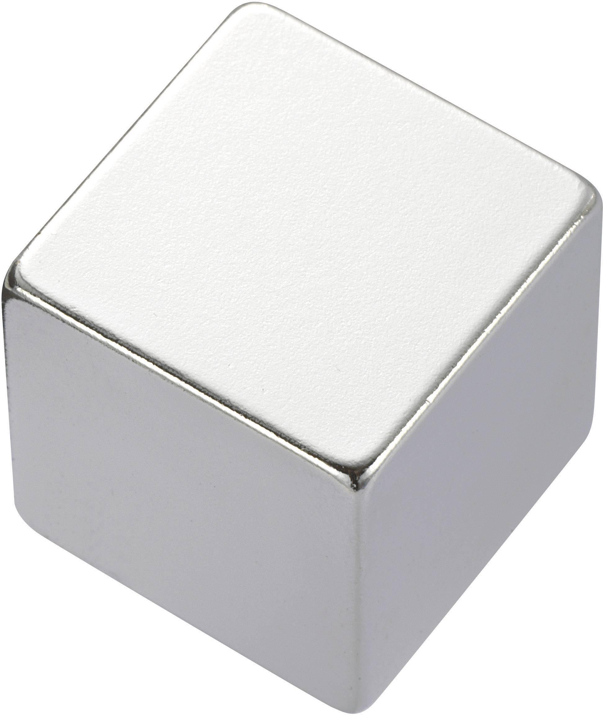 Permanentný magnet Pravoúhlý, N35, 1.24 T, Max.pracovná teplota: 80 ° C, 10 x 5 x 5 mm