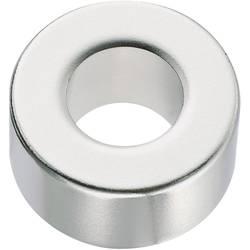 Permanentní magnet, 506018, N35, 10 x 10 mm, kroužkový