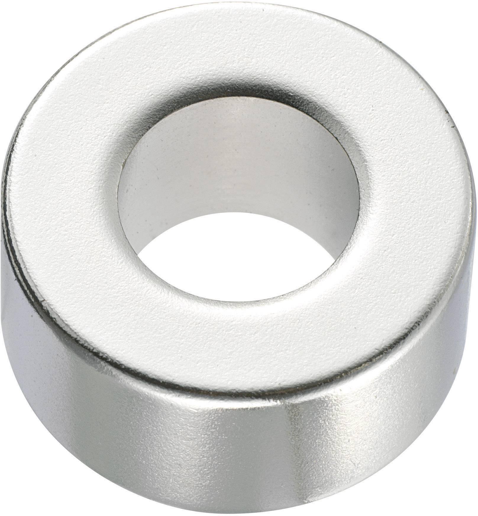 Permanentný magnet, N45, 20 x 10 mm, krúžkový