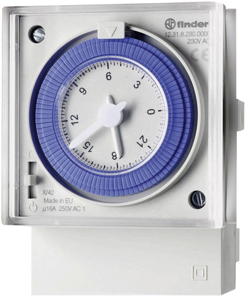 Časové relé - časovač Finder 12.31.8.230.0000 12.31.8.230.0000, 1 ks