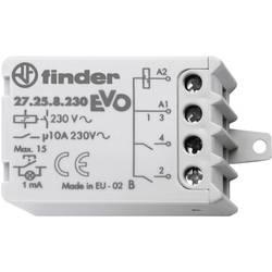 Impulsní spínač Finder 27.26.8.230.0000, 2 spínací kontakty, 230 V/AC, 10 A, 2300 VA