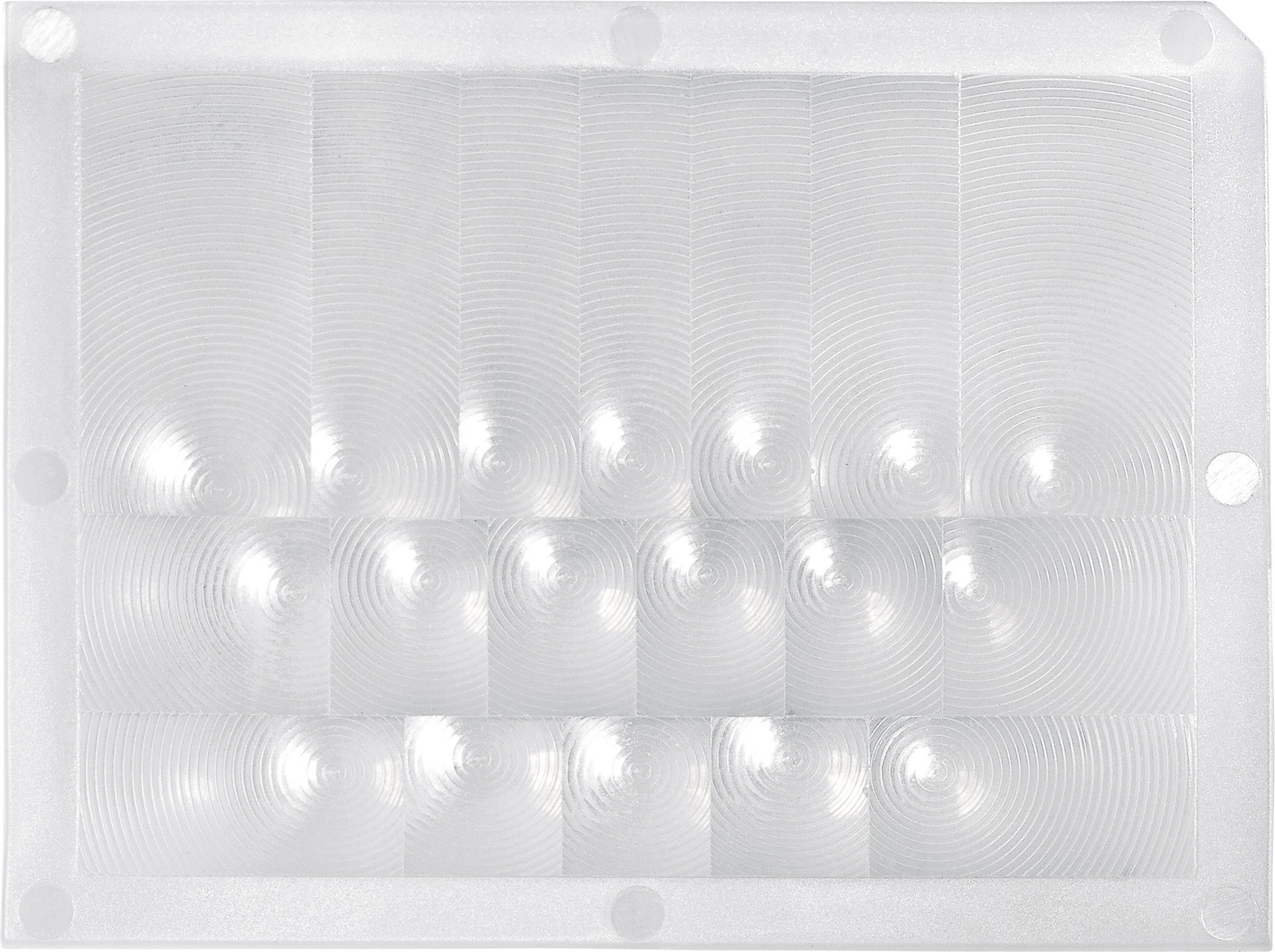 Čočka pro PIR senzor Murata IML-0666, (d x š) 33,9 mm x 26 mm, přírodní bílá