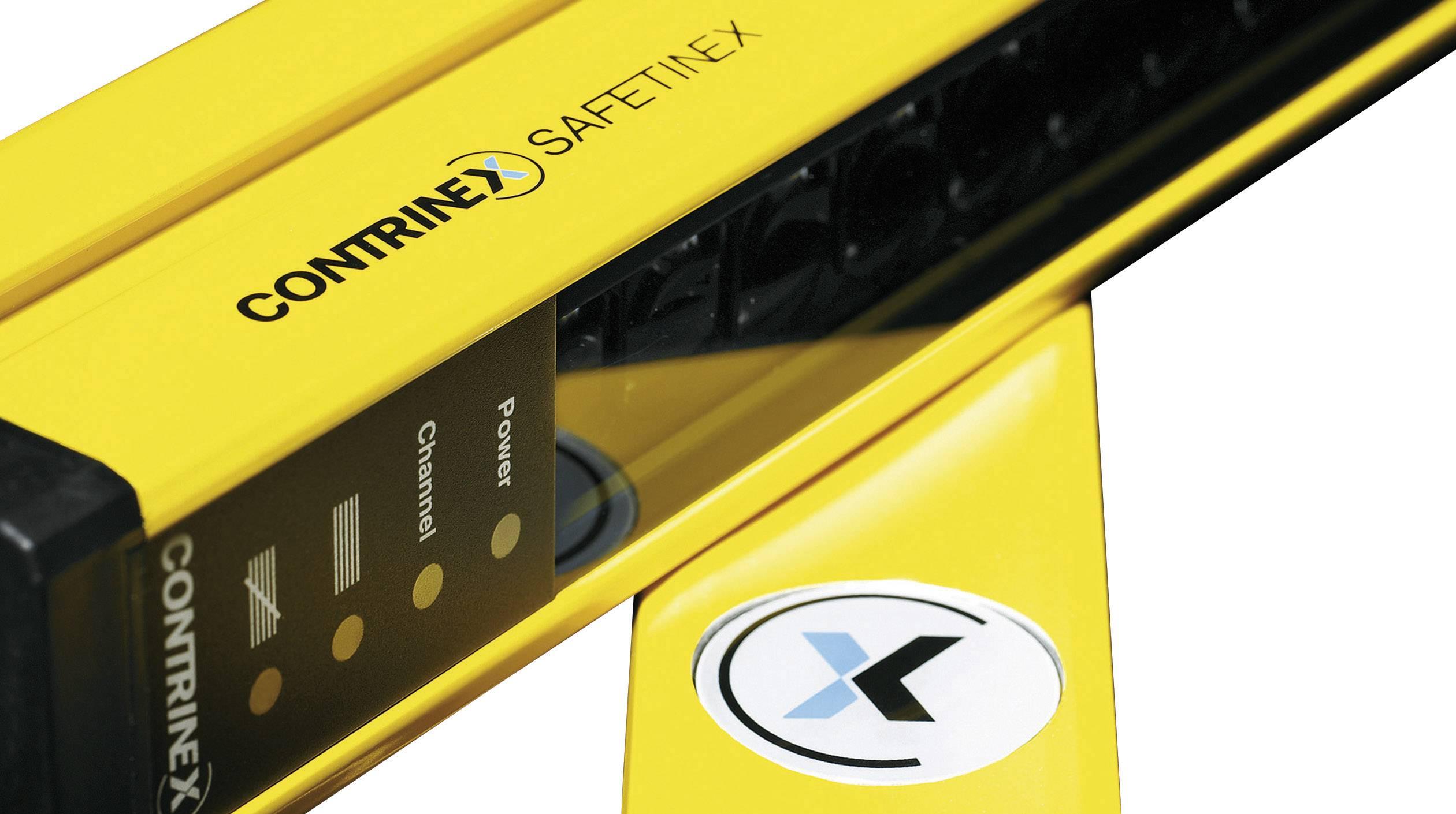 Vícepaprsková bezpečnostní světelná závora pro ochranu osob Contrinex YCA-50R4-3400-G012 630 100 038