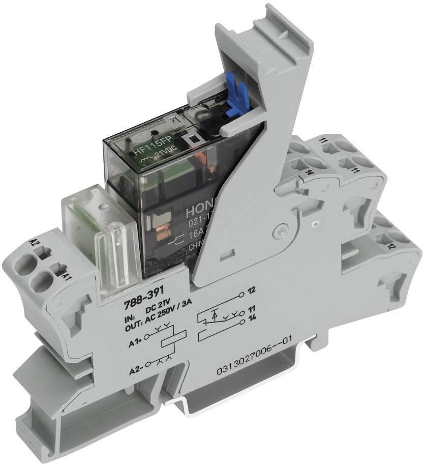 Zásuvná patice s relé WAGO 788-548, 115 V/AC, 8 A, 2 přepínací kontakty