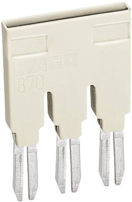 Hřebenové přemostění WAGO 859-404 Pólů: 4 světle zelená 1 ks