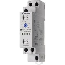 Časové relé multifunkční Conrad Components CMFR-66 506666, čas.rozsah: 24 h (max), 1 přepínací kontakt, 1 ks