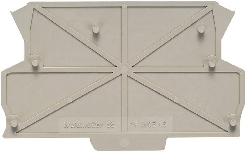 Koncová deska Weidmüller 8389030000, AP MCZ1.5