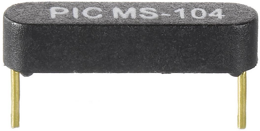 Jazyčkový kontakt PIC MS-105-3-2, 1 spínací, 150 V/DC, 120 V/AC, 0.5 A, 10 W