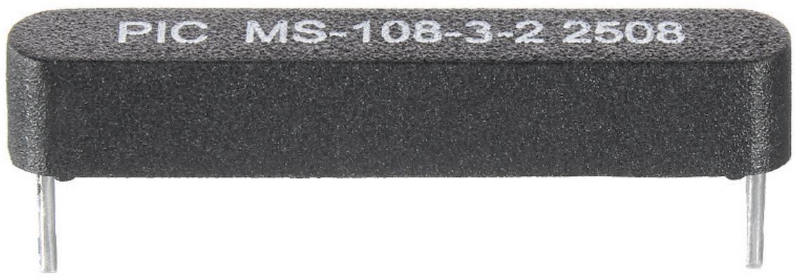 Jazyčkový kontakt PIC MS-108-3, 1 spínací, 200 V/DC, 140 V/AC, 1 A, 10 W
