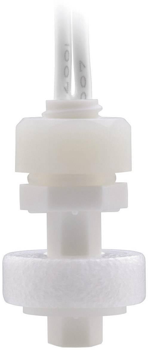 Plovákový spínač PIC PLS-020B3 PP, 130 V/AC / 180 V/DC, 1 A, 0,3 m, bílá