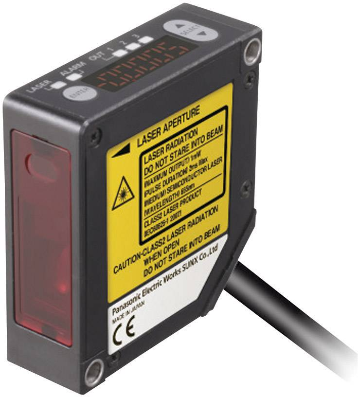 Laserový senzor pro měření vzdálenosti Panasonic HL-G112-A-C5