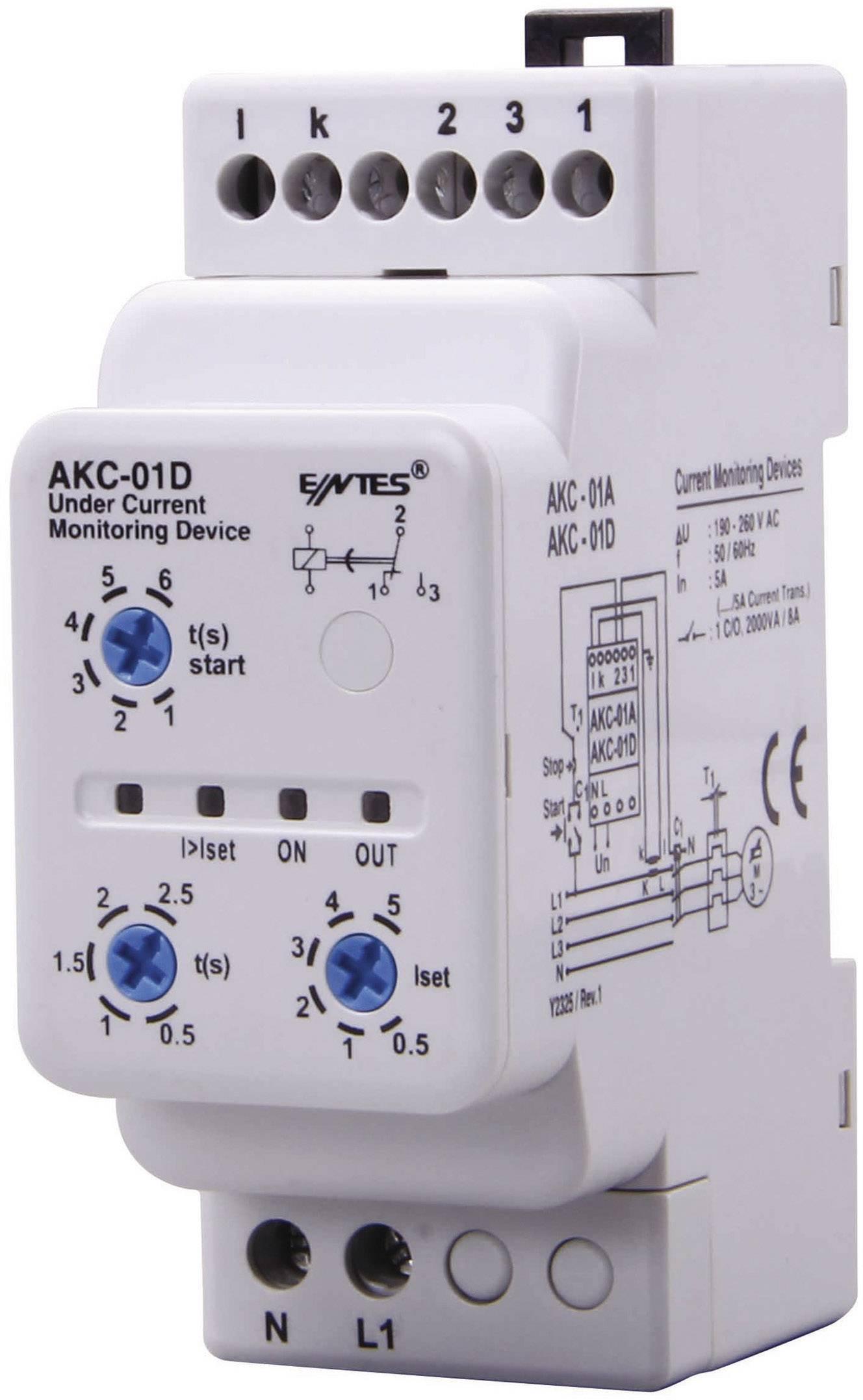 Kontrolné relé ENTES AKC-01D 101344
