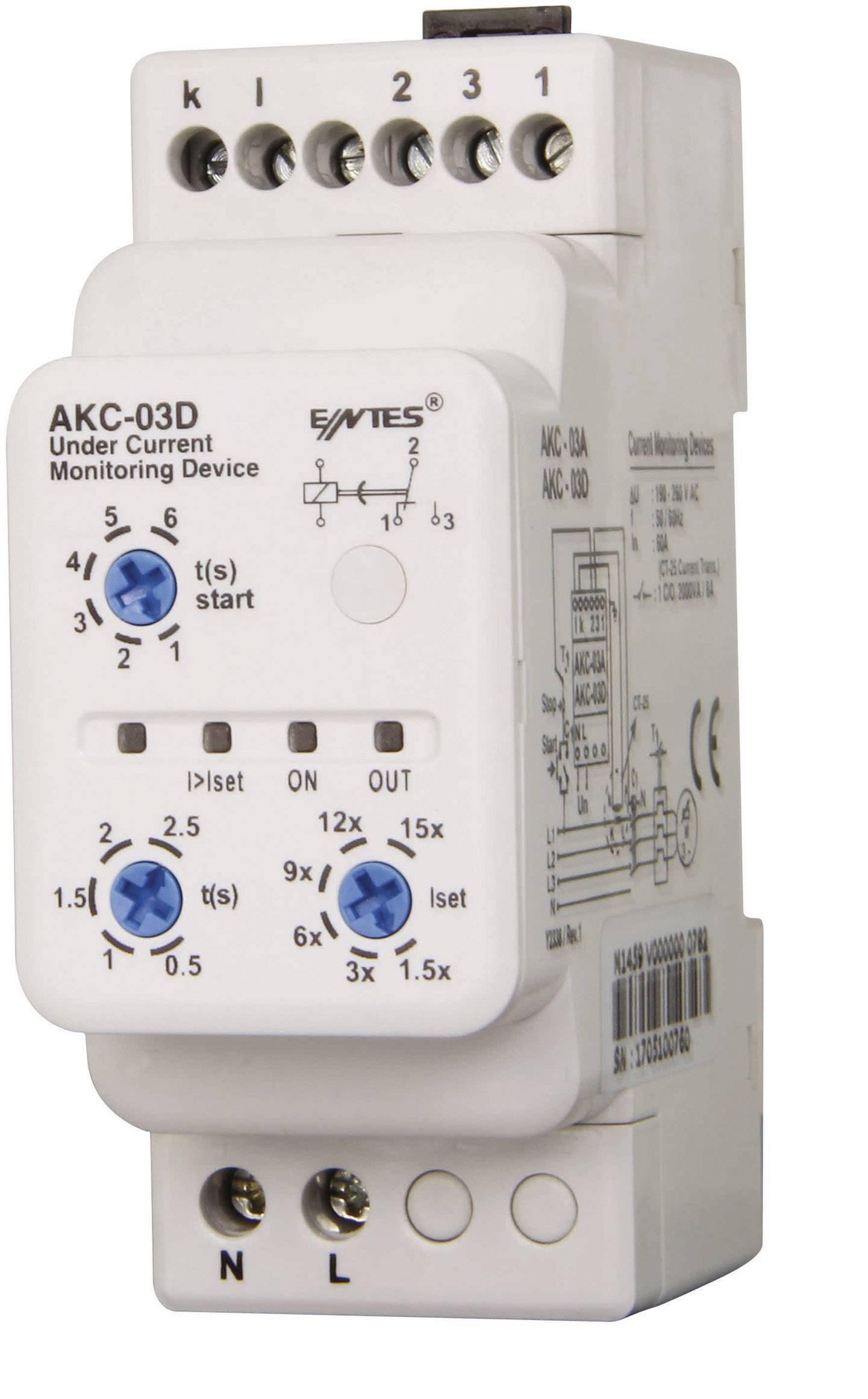 Kontrolné relé ENTES AKC-03D 101346