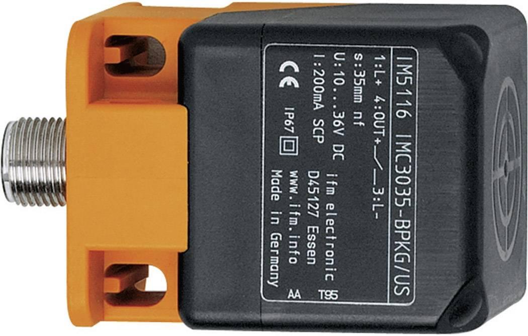 Indukčný senzor priblíženia ifm Electronic IM5115, 40 x 40 mm, PNP, spínacia vzdialenosť (max.) 20 mm