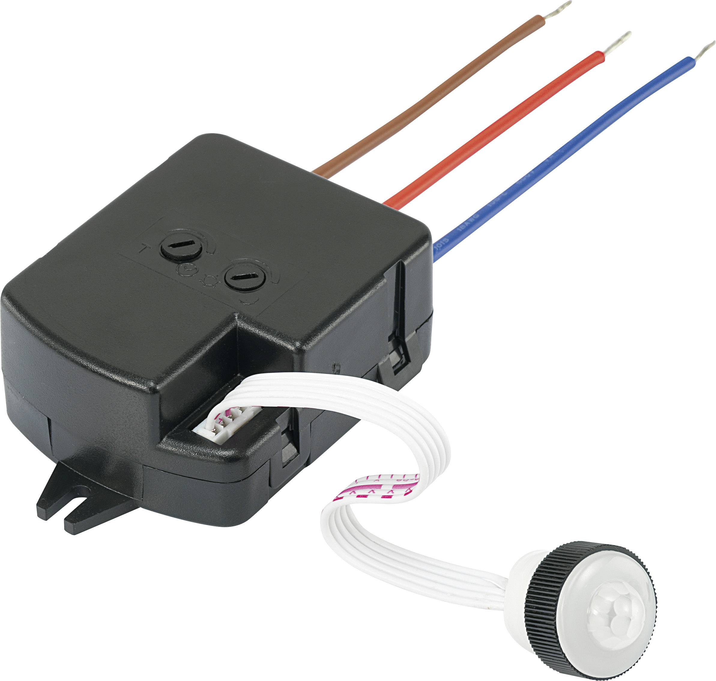 IR senzor pohybu Conrad Components KMP001-1 507214, 230 V/AC, max. dosah 3.6 m