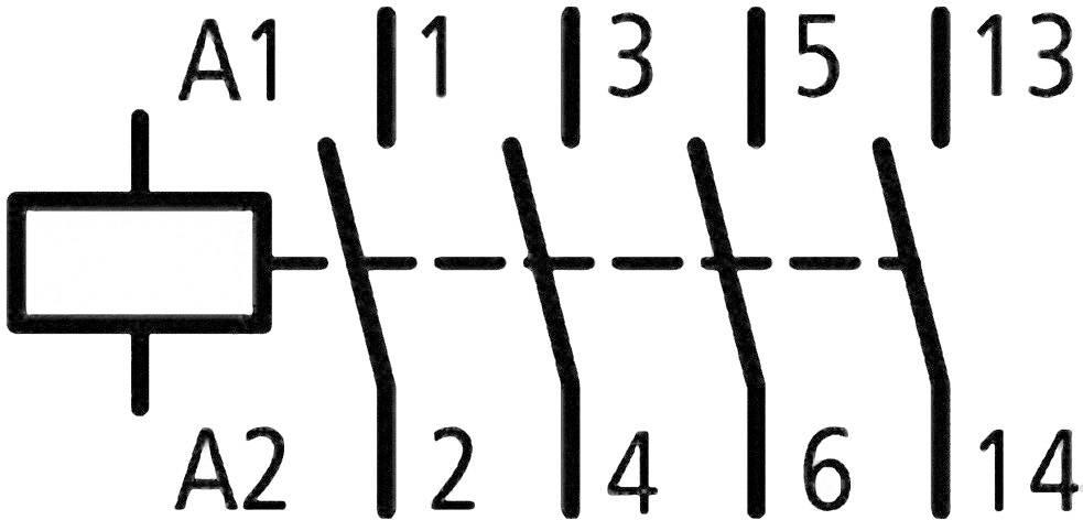 Eaton DILM17-10(RDC24) 277018, 24 V/DC, 18 A, 1 ks