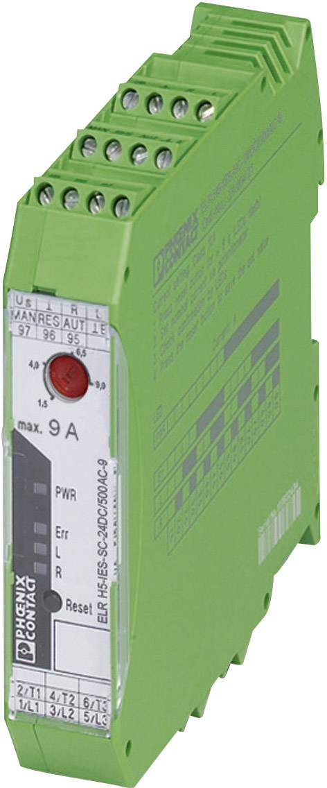 Motorový stykač Phoenix Contact ELR H5-IES-SC- 24DC/500AC-9 2900421, 24 V/DC, 9 A, 1 ks