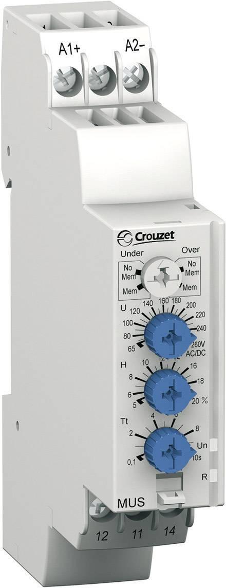 Relé pro monitoring napětí Crouzet, 84872142, MUS