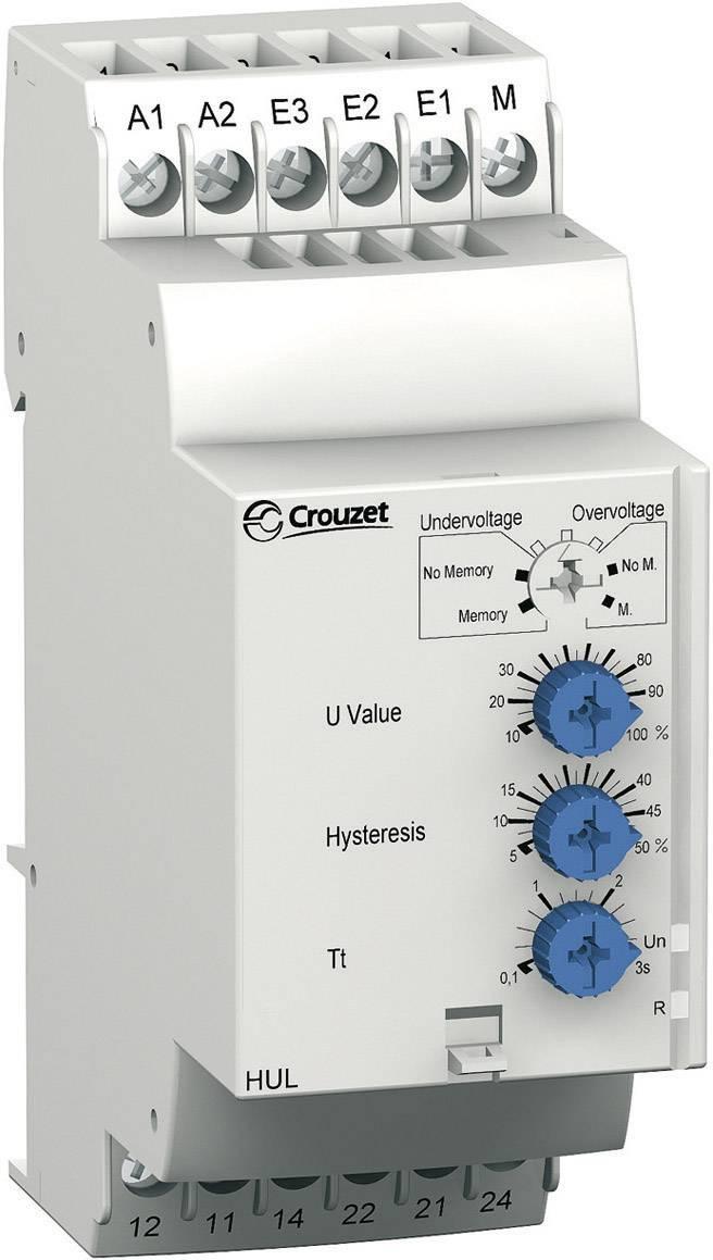 Relé pro monitoring napětí Crouzet, 84872120, HUL