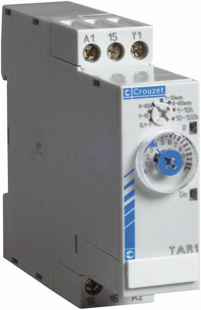 Elektronické časové relé Crouzet, 88865265, TK2R1, 8 A, 8 A DC/AC , 250 V DC/AC 2000 VA/ 80 W