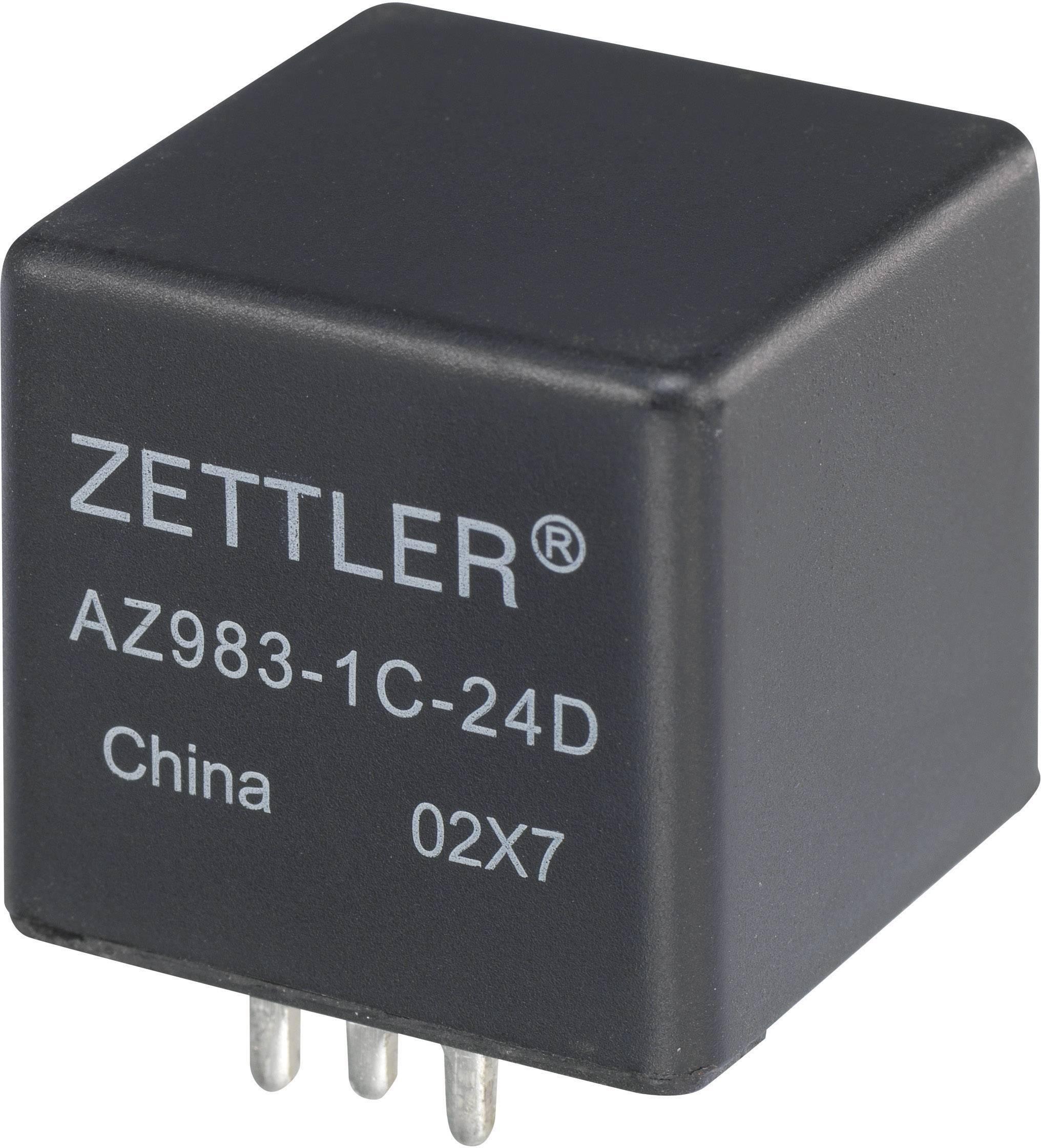 Miniaturní automobilové relé Zettler Electronics AZ983-1C-24D